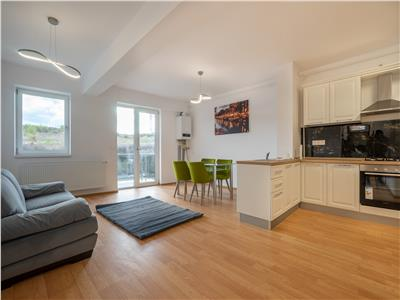 Apartament superb cu 2 camere la prima inchiriere, Borhanci!