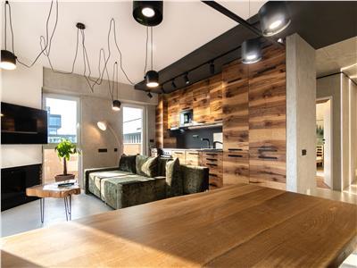 ✅** Apartament deosebit cu 2 camere, stil industrial, panorama oras, Semicentral **