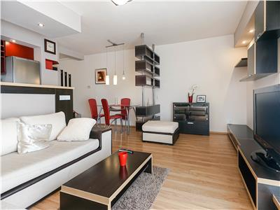 Apartament spatios, 2 camere, terasa, garaj subteran, zona Grand Hotel Italia!