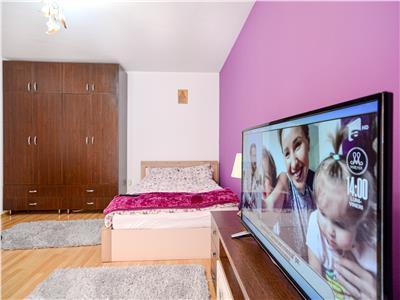 Apartament cu 1 camera, gradina, parcare, Floresti